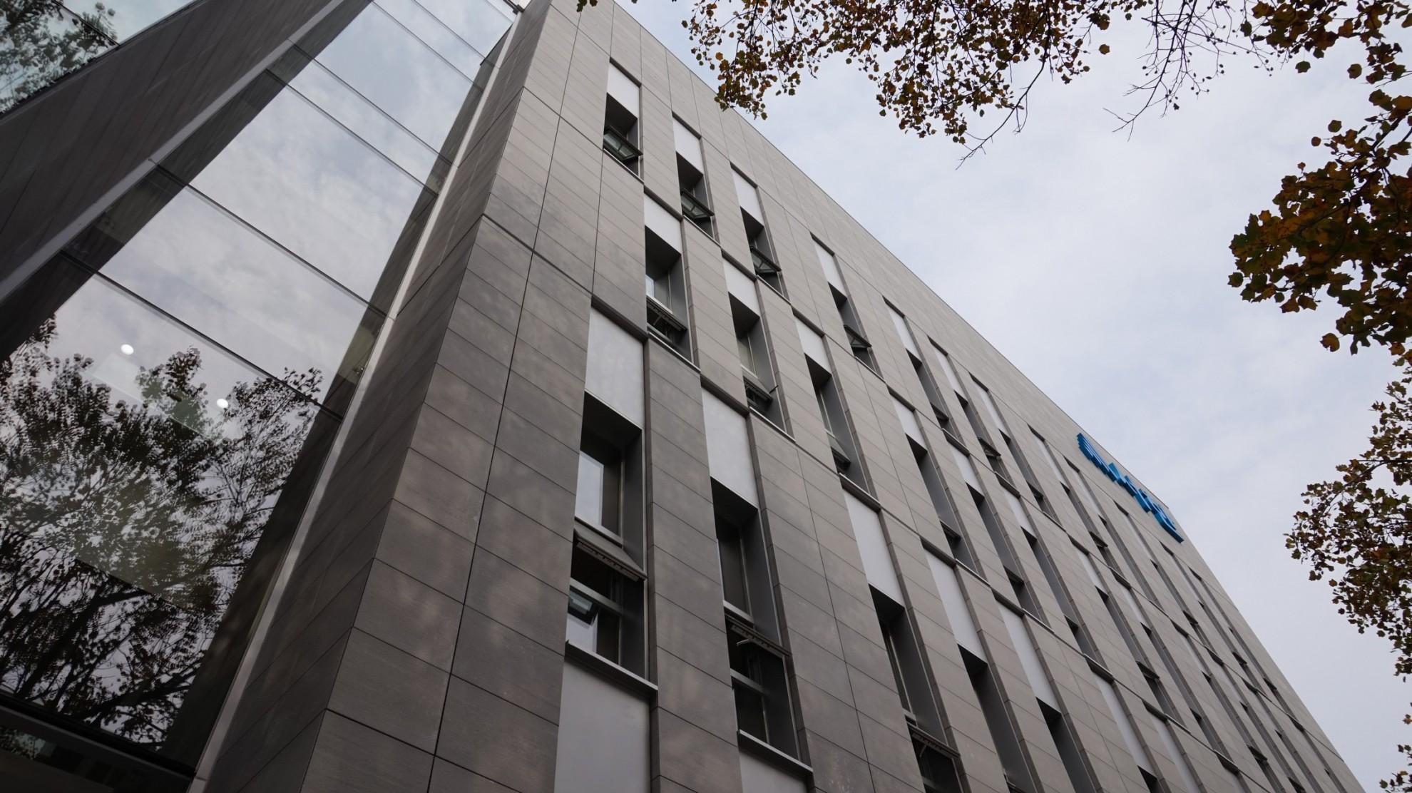 Вентилируемый фасад из натурального камня