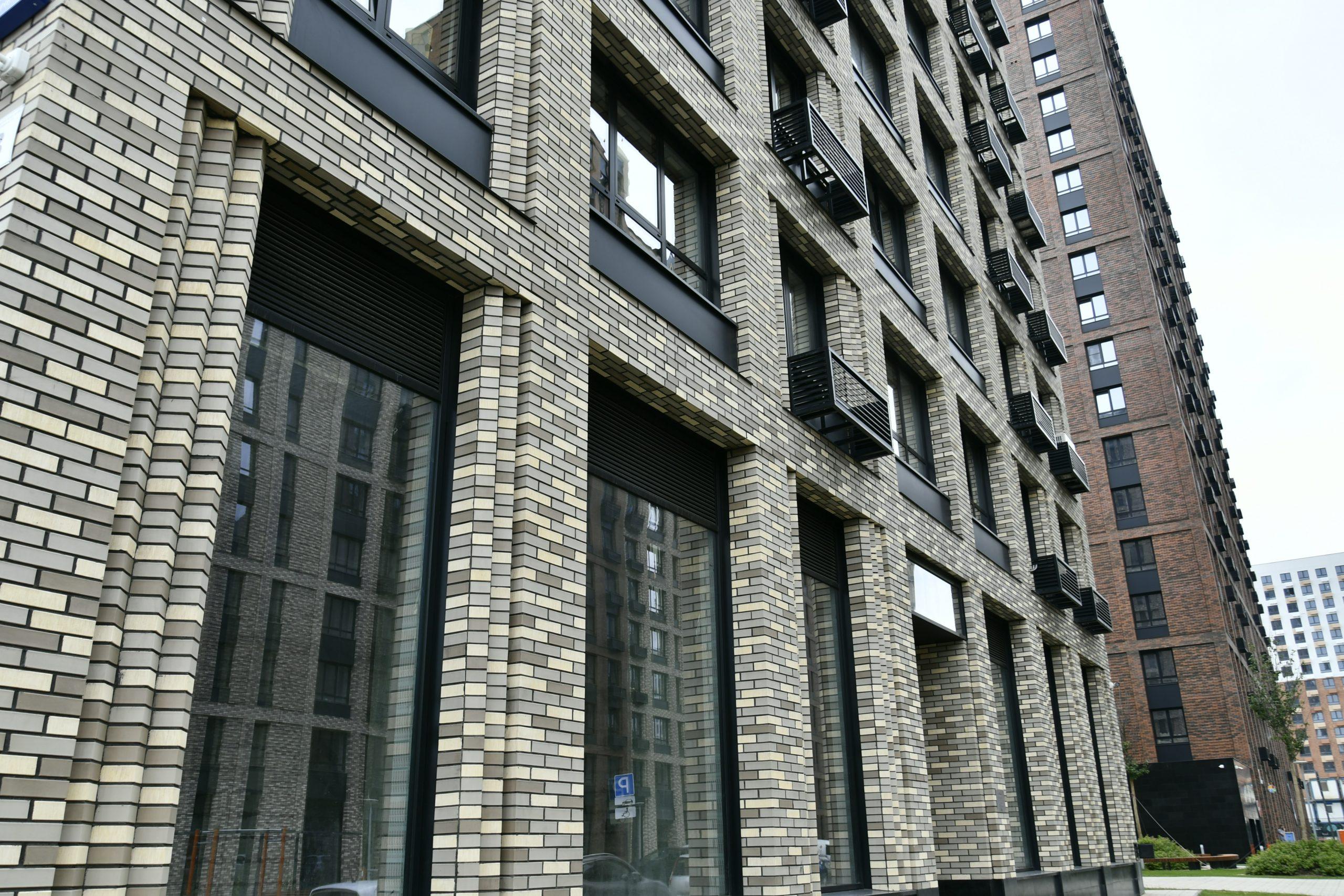 Вентилируемый фасад из клинкера