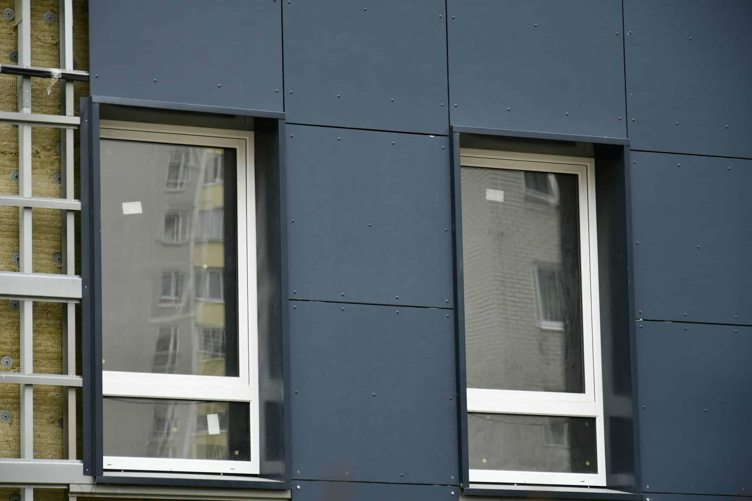 Вентилируемый фасад из фиброцементных панелей